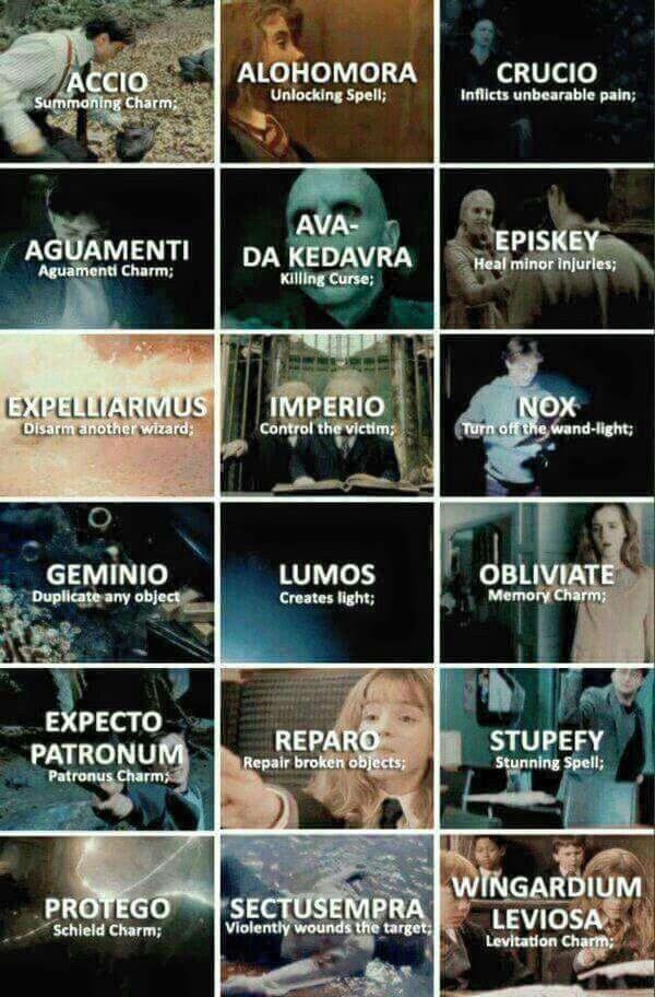 Harry Potter Spells ❤