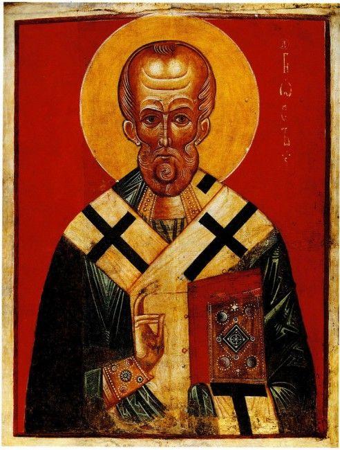 Святой Николай (Николай Угодник), Неизвестный художник