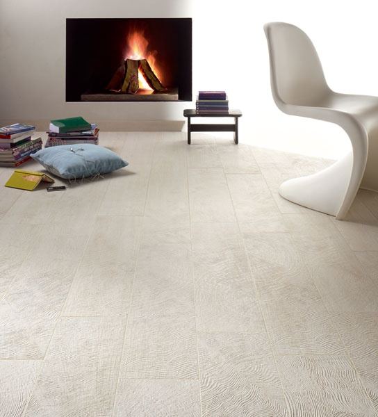 Porcelain stoneware floor tiles with wood effect URBAN WOOD by Flaviker Pi.Sa. #fireplace #wood #panton #interiors