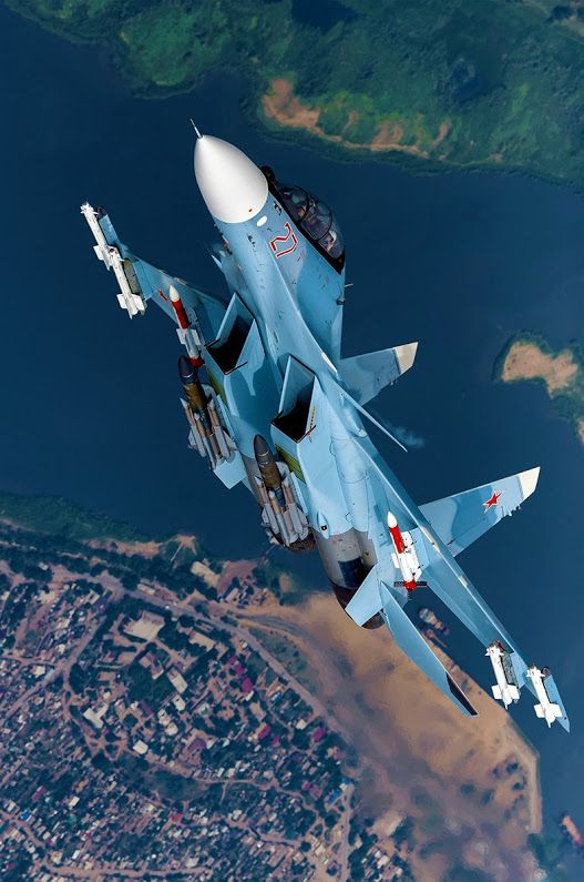 "Sukhoi Su-30SM ""Flanker"""