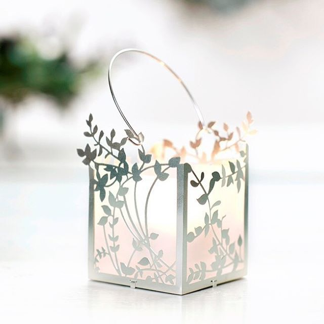 Tealight holder - Foliage