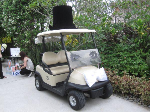 The Groom Bridal Car
