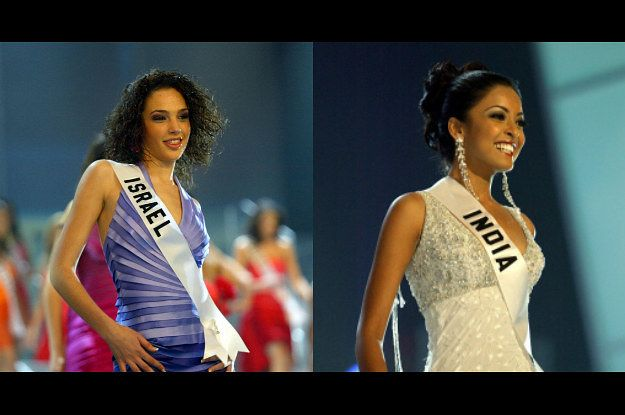 "13 Years Before ""Wonder Woman"" Gal Gadot Finished Below Tanushree Dutta At Miss Universe"