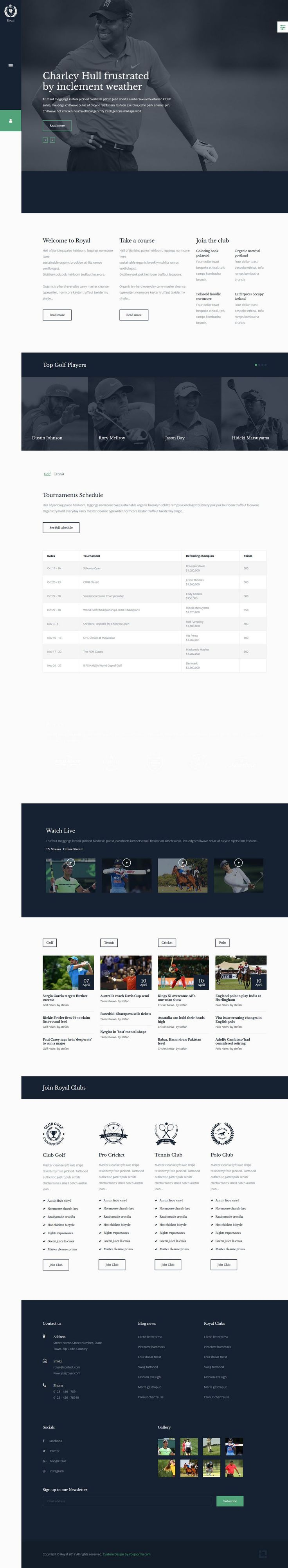 Royal Sports Joomla Template. Royal Sports is a Premium Joomla Themes from You Joomla Templates. This template is optimized for online gaming sports, business, events or portfolio presentation websites. It is built using Yj Simple Grid (Yjsg) Joomla Template Framework.   #Joomla Premium Themes #Joomla Sports Templates #Joomla Templates 2017 #Joomla Templates For Games #Joomla Themes 2017 #Premium Joomla Themes #Sports Joomla Templates #Youjoomla Templates #Youjoomla Themes
