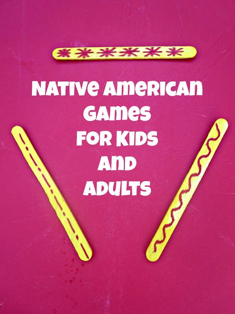 Native American Games - perfect for the classrooms and for celebrating Native American History month