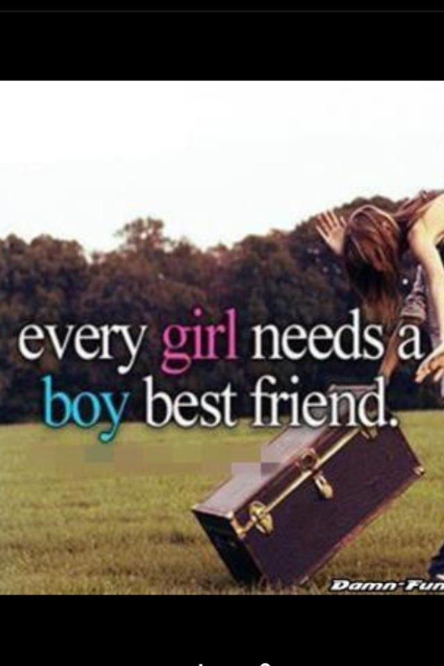 Why can't I have a guy best friend!!!!?, just friends...