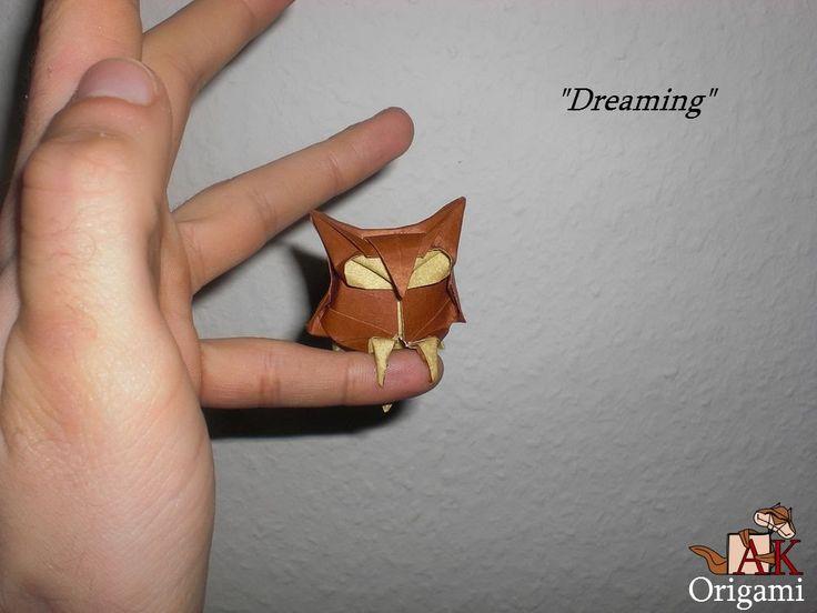 Origami Dreaming owl (Alexander Kurth) Tutorial