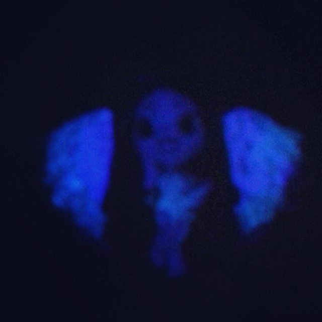 another clue this is the second ,another angel that glows in the dark *-* #handmade #handmadeart #fimoart #fimopassion #fimolove #fimodoll #dolly #angel #falleninspired #fallenatic #little #cute #cutie #glowinthedark #love #like #instalike #instafollow #cutesirascreations