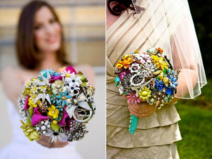14 best Wedding Flower Bouquet Alternatives images on Pinterest ...