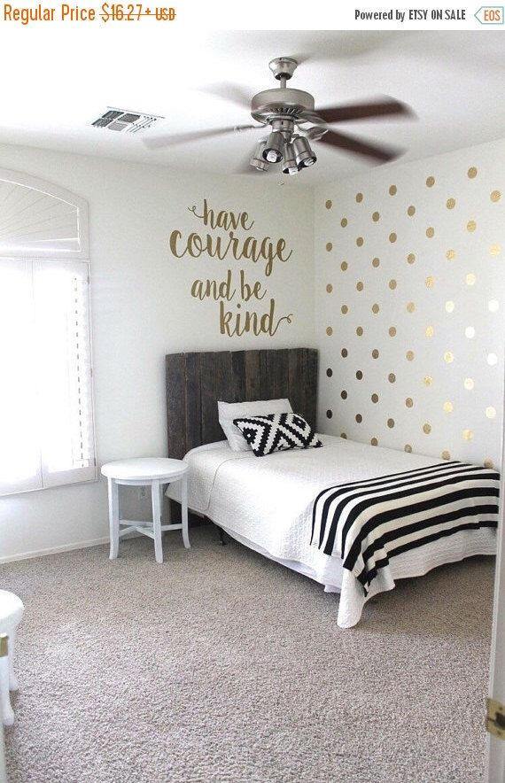 Gold Polka Dot Decals - Gold Circle Decals - Vinyl Gold Circles  0045 by WallTribe on Etsy https://www.etsy.com/listing/236384506/gold-polka-dot-decals-gold-circle-decals