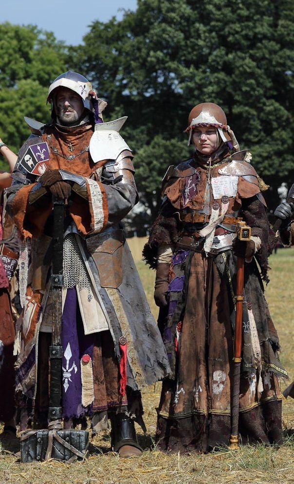 Loyal & Squire of Flowerfield, Untotes Fleisch @ Conquest ...