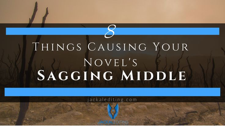 The sagging middle is a problem writers face involving the struggle to keep the…