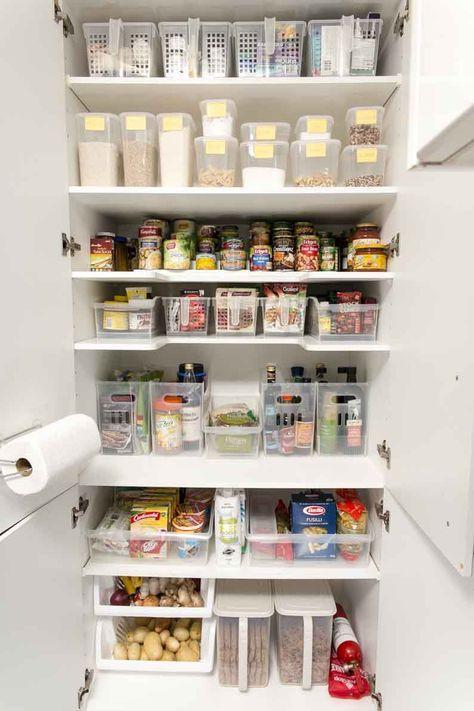 kitchen pantry organization kmart 47 ideas for 2019 in 2020 kitchen organization pantry space on kitchen ideas kmart id=50180