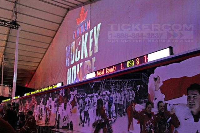 This is necessary to produce the high-quality LED Tickers Service in USA, especially in elite sporting events. People pay a lot to buy tickets and the want extremely stunning tickers to enjoy the game. There are many specialized companions known for producing quality content for sporting events like UFC, Champions League, Tour De France, Tennis, Copa America, etc.