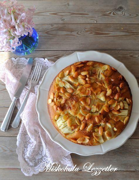 miskokulu lezzetler: Elmalı Bademli Kek