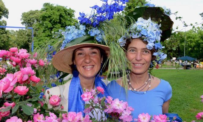 #Orticola #cappelli #fiori #erba #accessori