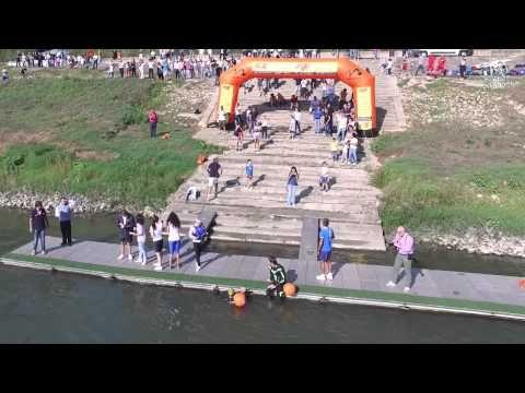 The Swim Po River Competition - YouTube