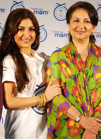 Soha Ali Khan has no competition with mom!