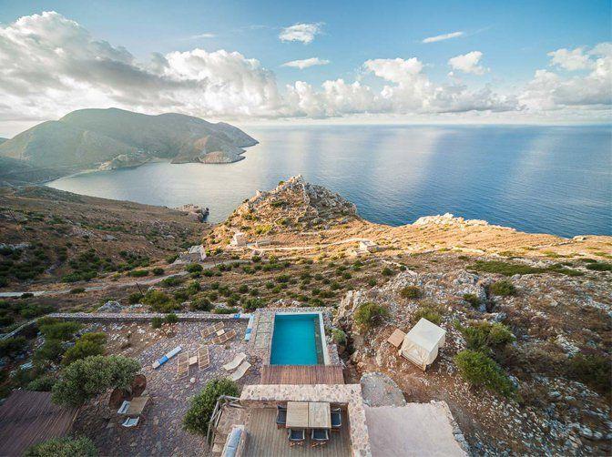 Tainaron Blue Retreat, Mani, Greece   small luxury hotels, boutique hotels