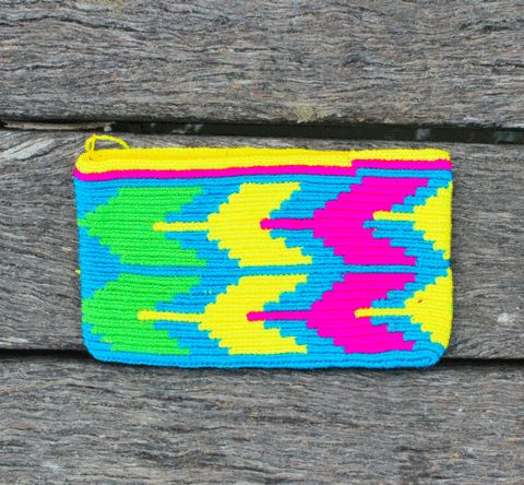 Wayuu del monedero del embrague - Lavina
