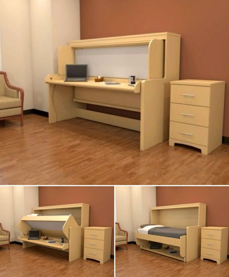 21 best Convertible desk beds images on Pinterest  Desk