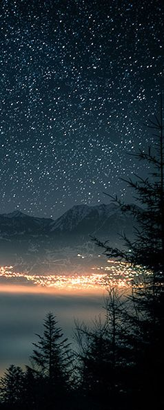 Starry Night Over Switzerland #LIFECommunity #Favorites From Pin Board #26