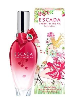 Escada Cherry in the Air  Really nice fresh and clean scent