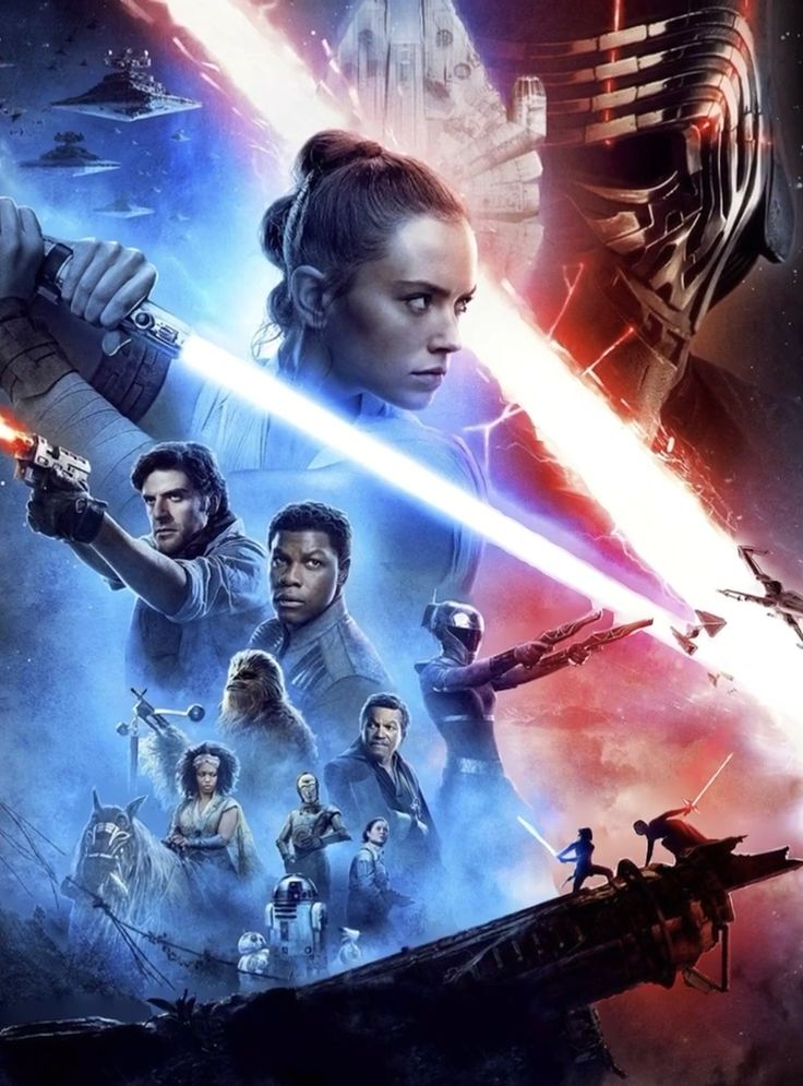The Rise of Skywalker (3D animated art)