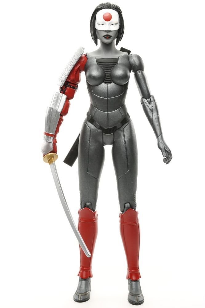 "DC Collectibles The New 52 KATANA 6.25"" Action Figure 2013 #DCCollectibles"