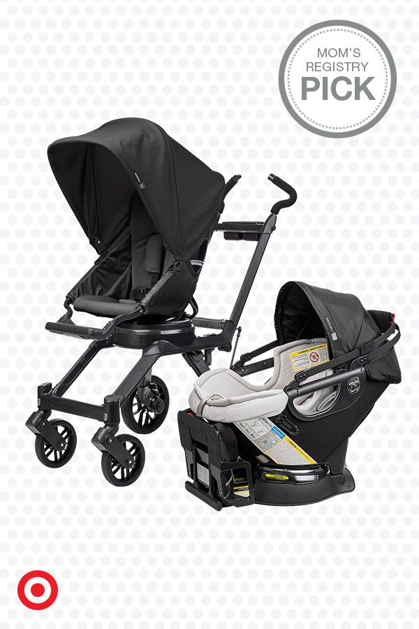 The Orbit Baby G3 travel system will easily take you and Baby from infancy to toddlerhood. It offers state-of-the-art, parent-friendly design features like the ability to dock the Orbit car seat at any angle, then use the Orbit SmartHub ring system to smoothly rotate your baby into position. Plus, the Orbit stroller folds with a one-handed, twist-and-lift motion.