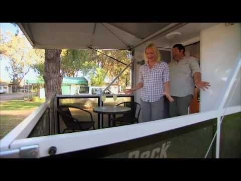 Tim and Brooke take a look inside and out at the Royal Flair Sky-Deck caravan - featuring a fantastic new feature, a deck!