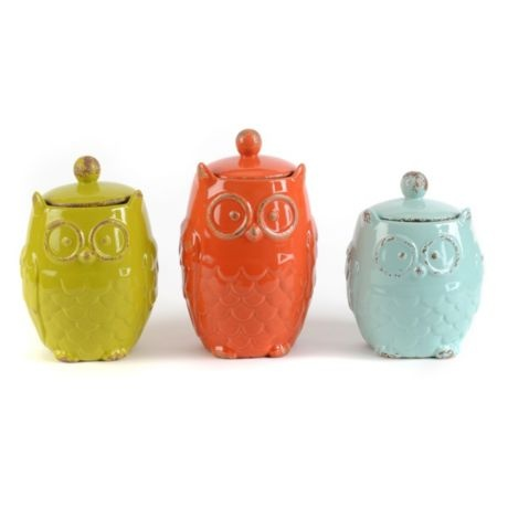 owl kitchen canisters 96 best images about canisters on ceramics 14495