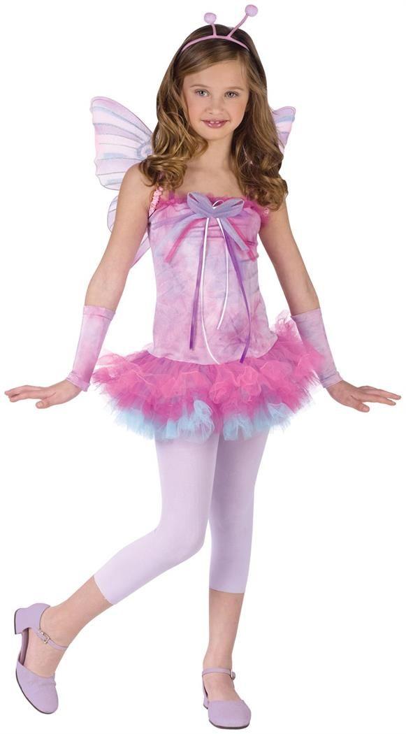 Butterfly Purple Fairy Pixie Princess Fancy Dress Halloween Tween Teen Costume