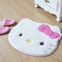 Hello Kitty Carpet Bedroom Rug Doormat Bathmate (60*50 cm)