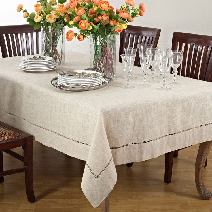 Natural Tablecloth Polyester Tablecloth Linen Tablecloth Wedding Tablecloth Rectangular Table Linens Home Decor Rectangular Tablecloth by ilovecraftsy on Etsy https://www.etsy.com/listing/386114314/natural-tablecloth-polyester-tablecloth