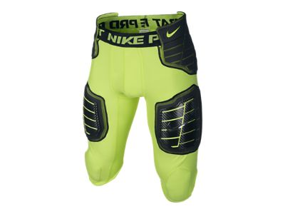 Nike Pro Combat Hyperstrong 3.0 Compression Hard Plate 3/4 Men's Football Pants