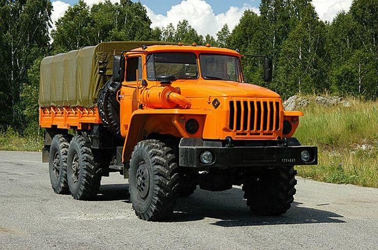 URAL 6X6 - TRUCK , RUSSIA