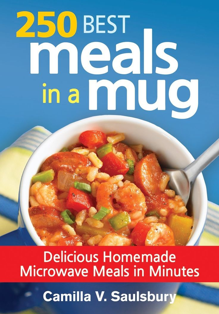 250 Best Meals in a Mug - Delicious Homemade Microwave Meals in Minutes - Meals in a mug are a convenient and budget-friendly way to eat delicious and healthy meals when living in a dorm. Great for making single meals and snacks, the individual portion sized recipes in this book cover morning breakfast to late afternoon snacks and satisfying suppers with just a quick trip to the microwave. These tasty and healthy dishes reintroduce the ease and simplicity of the microwave.