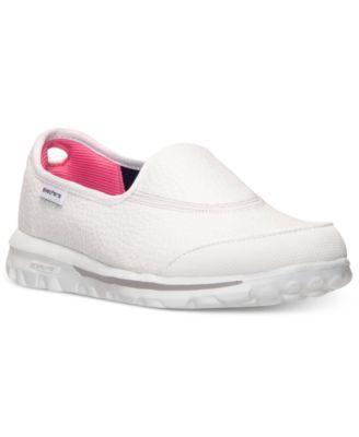 Skechers Women's GOwalk - Aspire Memory Foam Walking Sneakers from Finish Line