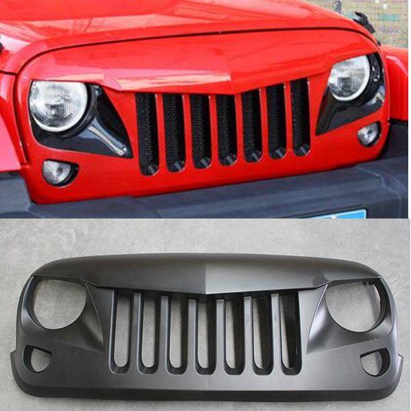 Jeep Auto Accessories Specter Grill Jeep Wrangler 2007 - Present