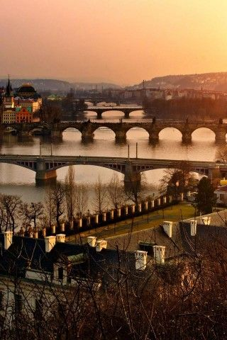 I left my heart in Prague- Vie of three bridges.