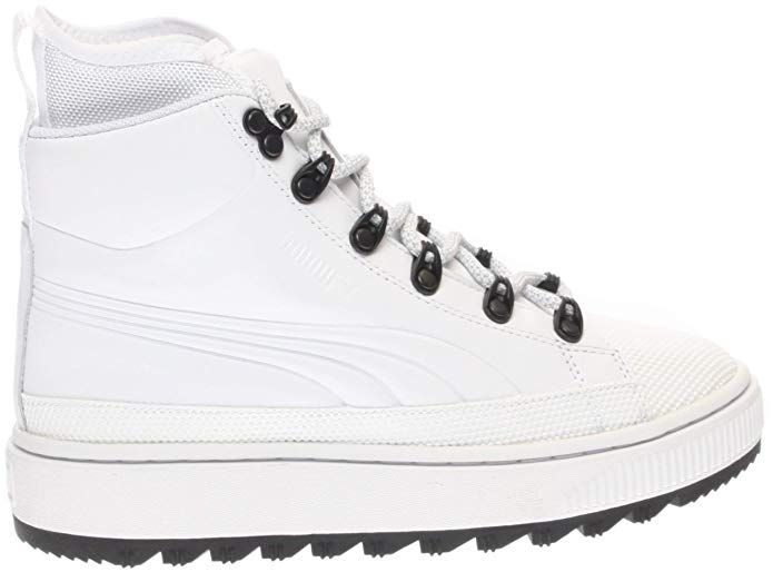 c92bb2dedad5f Amazon.com: PUMA Mens The Ren Boot Junior Outdoor Boots White: Shoes ...