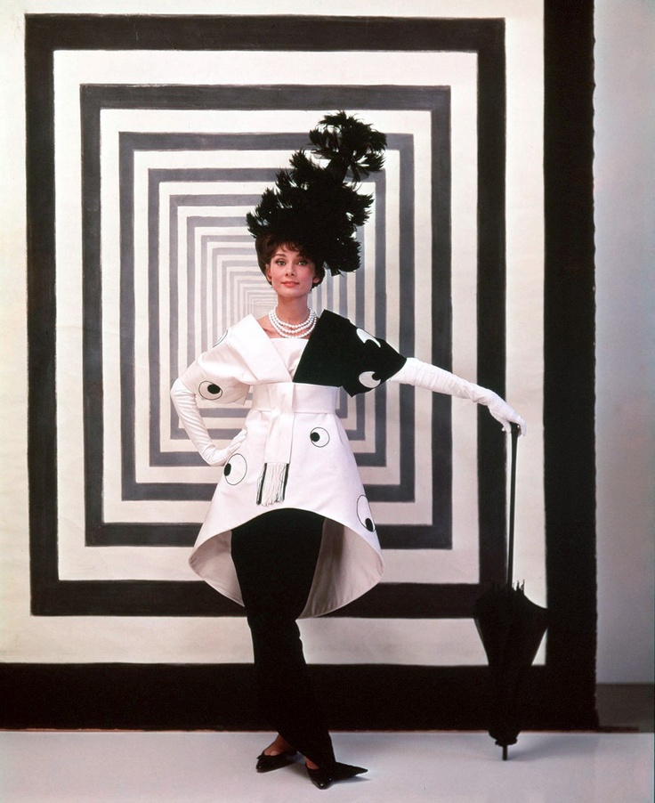 Audrey HepburnMy Fair Lady, Cecil Beaton, Black And White, Audrey Hepburn, Black White, Costumes Design, Blackwhite, Lady 1964, Things Audrey