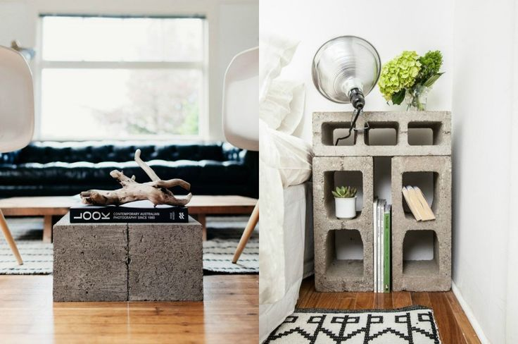 Concrete Blocks in Your Home and Garden I Cleo-Inspire BLOG I