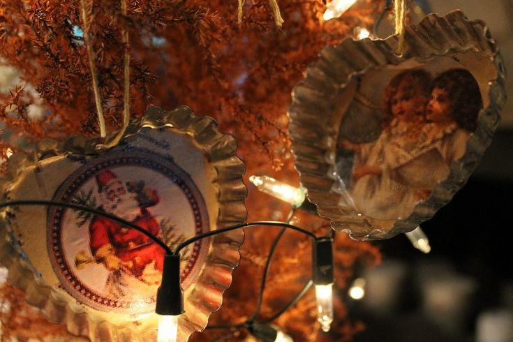 Día de amigas - Como hacer adornos fáciles para el árbol de navidad