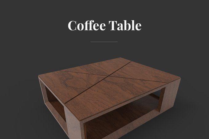 Coffee Table by Prashant on @creativemarket