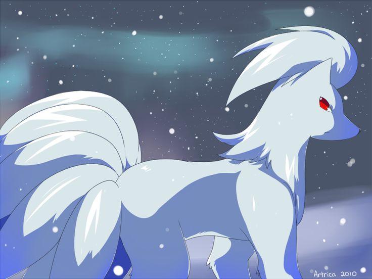 Shiny Ninetales by Jia...