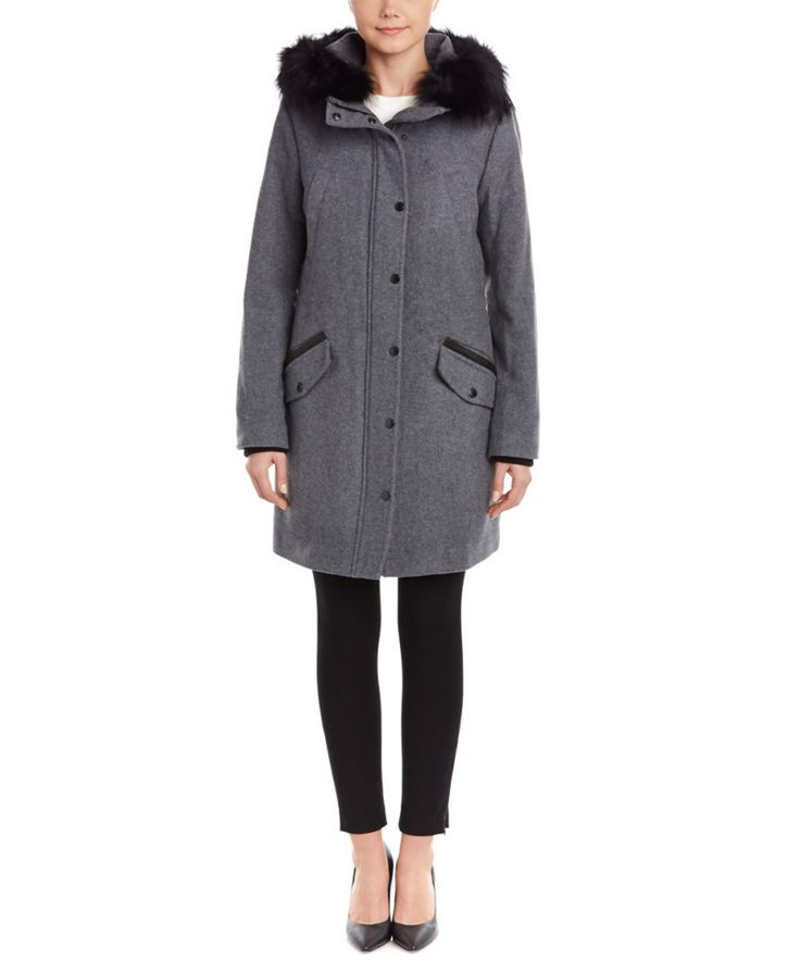 ANDREW MARC Andrew Marc Wool-Blend Parka'. #andrewmarc #cloth #coats