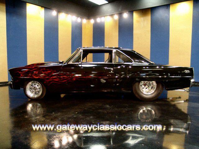 New Chevy Trucks >> Pro Street Cars for Sale | 1967 Chevrolet Nova SS Pro Street for Sale - Gateway Classic Cars ...