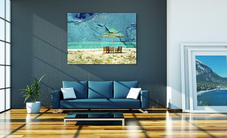 """Leinwand """"Bis zum nächsten mal """"  40 x 30 cm von Heavensblue4711 auf DaWanda.com"""